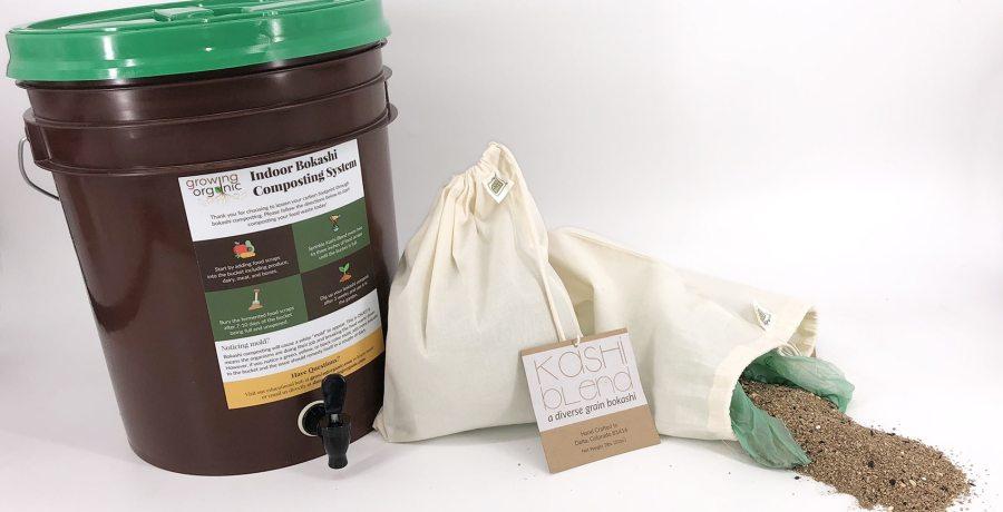 a diverse grain bokashi | Probiotic soil builder, compost accelerator, & odor eliminator