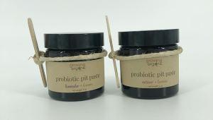 probiotic pit paste - all natural vegan deodorant