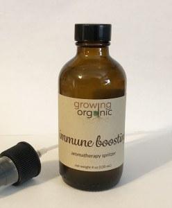 immunity boosting aromatherapy spritzer