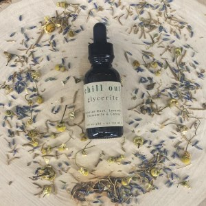 tincture for relaxation | herbal glycerite