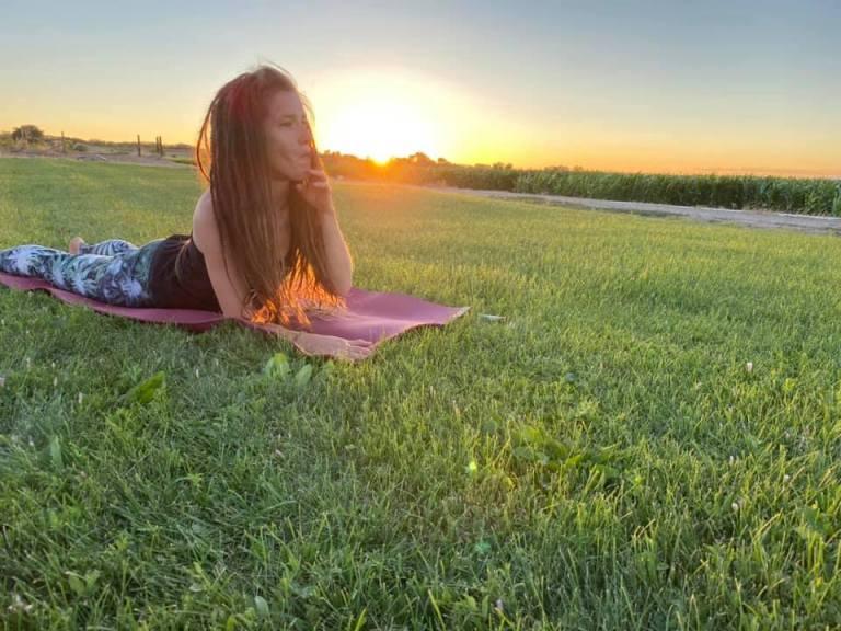 Inaugural Ganja Yoga Class