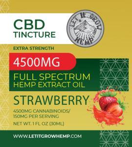high strength cbd tincture