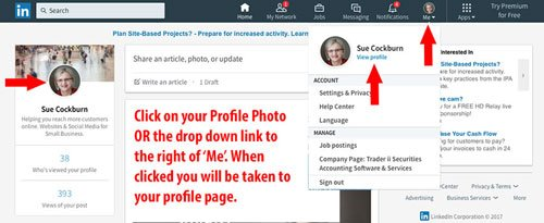Step-1-Click-on-your-profile-photo-to-go-to-your-profile-view