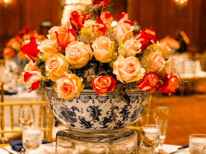 Floral arrangements from my wedding, created by Don Nixon.