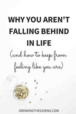 Feel like you are falling behind in life? [SPOILER] So does everybody else. In this post I share the reasons why we all feel like we are falling behind in the game of live and how we can rise above the fray.