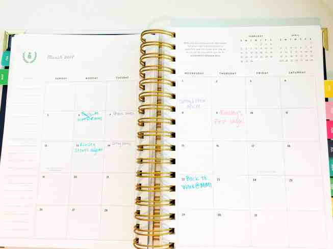 Get the most out of your Simplified Planner with these helpful tips and become more organized by using this Emily Ley product.