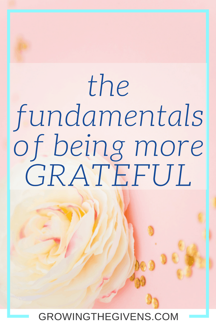 Increase your joy and positivity by using these easy steps to become more grateful!