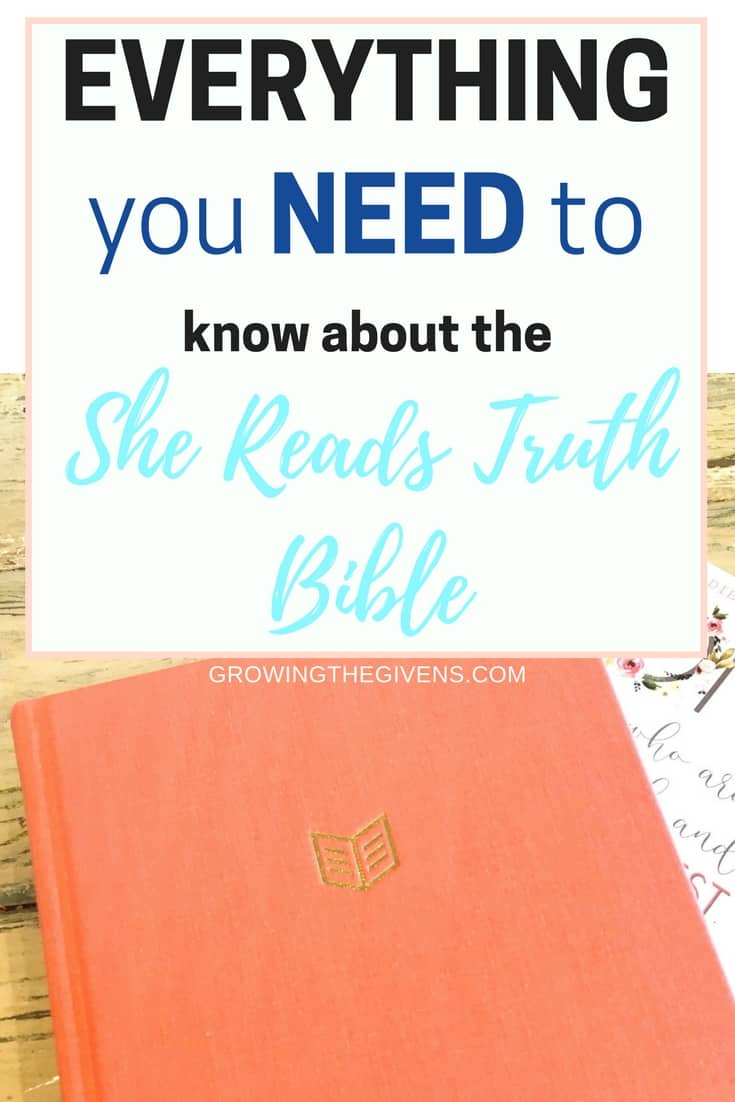 Everything You Need to Know About the She Reads Truth Bible before deciding to buy it. If you are planning on using this Bible for study purposes or for journaling, you need to check out this review of the She Reads Truth Bible.