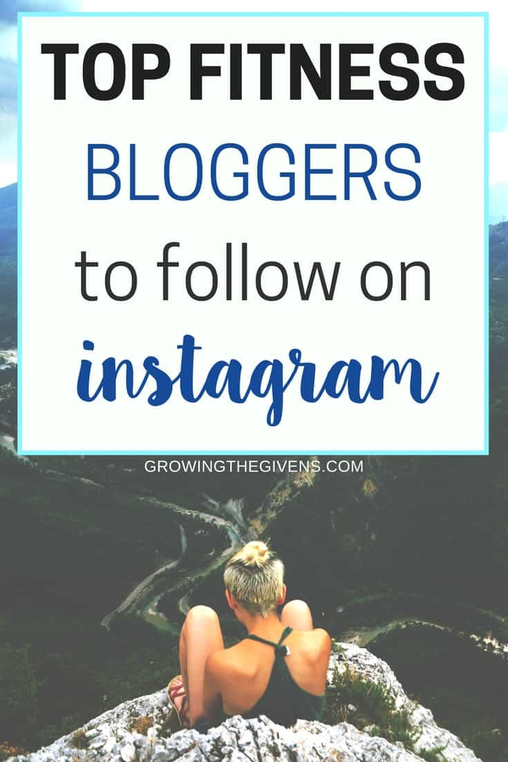 Fill your feed with positive images of fitspiration by following these top fitness bloggers on instagram. Give your self some fitness motivation as you work out and eat right this year!