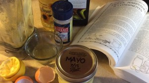Homemade Mayo, one of the easiest things you can make!