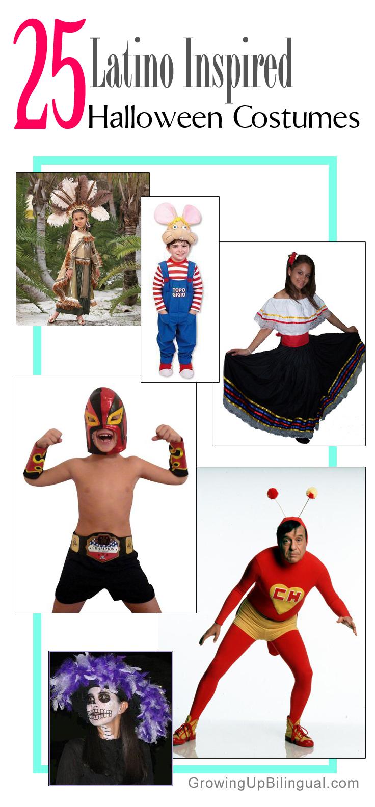 Latino Inspired Halloween costumes