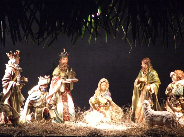 three kings day, three magi