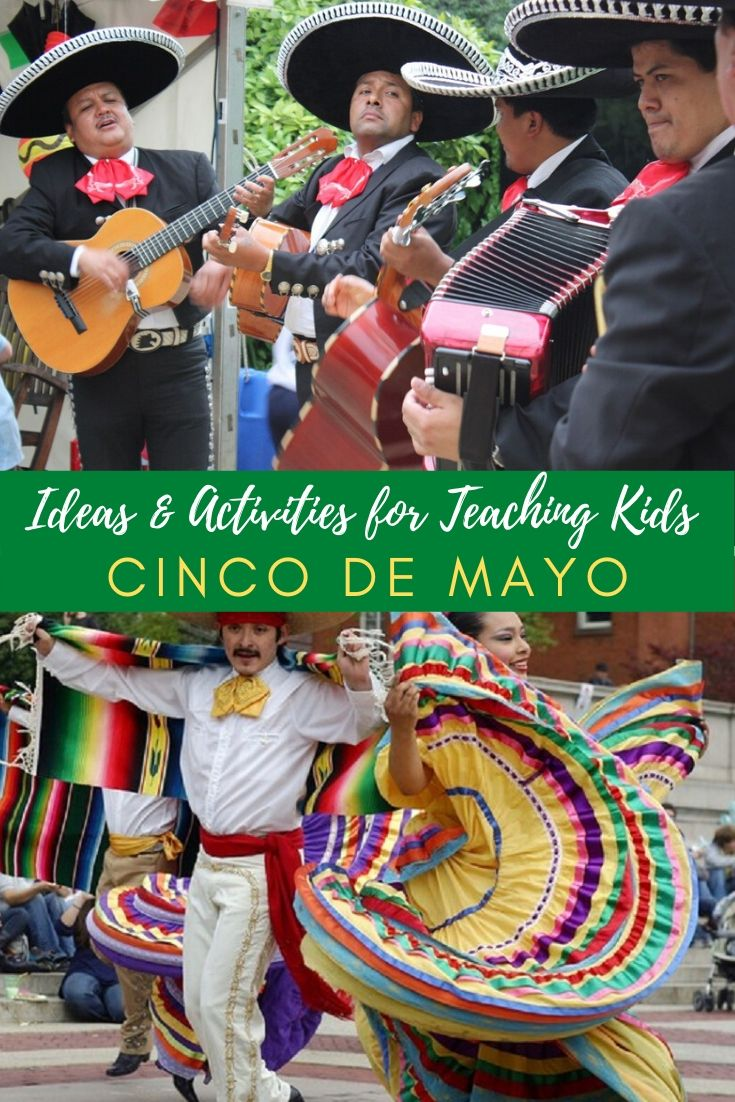 Ideas & Activities for Teaching Kids About Cinco de Mayo