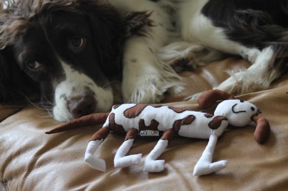 cryoww doll and dog
