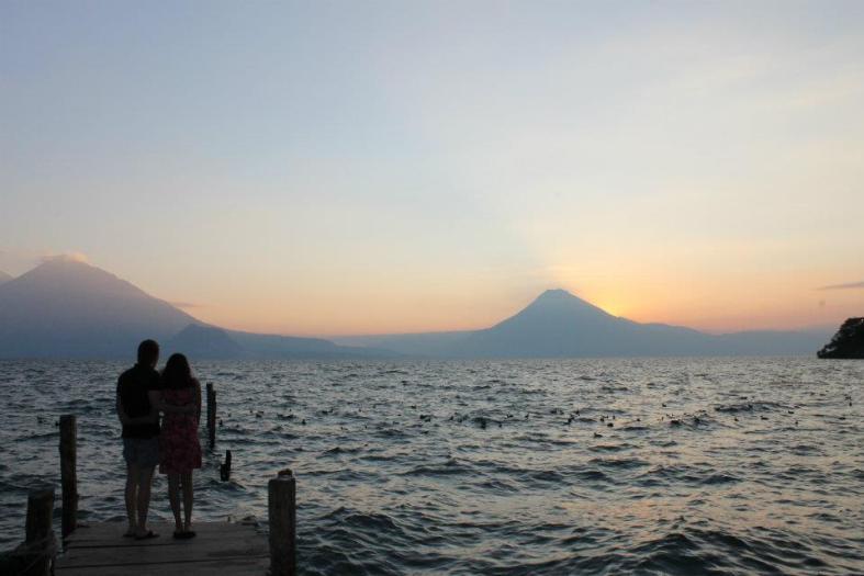 Lake Atitlan in Guatemala. Photo: Paula Bendfeldt-Diaz .  All Rights Reserved.