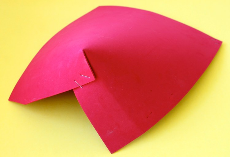 red foamy for robot costume