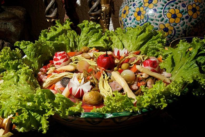 fiambre from Guatemala Dia de los Muertos