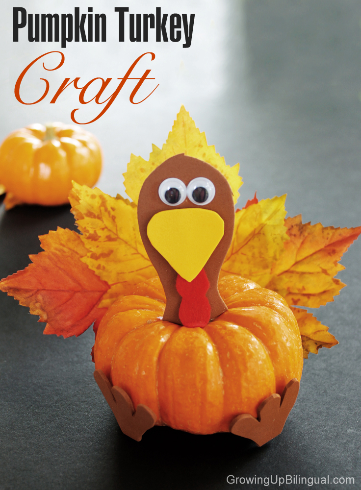 pumpkin crafts for toddlers pumpkin turkey thanksgiving craft for growing up 5298