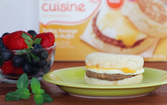 turkey sausage egg muffin lean cuisine #shop