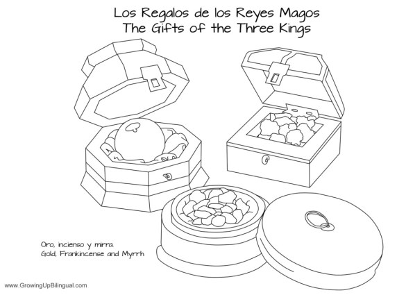 the three kings coloring pages - photo#35