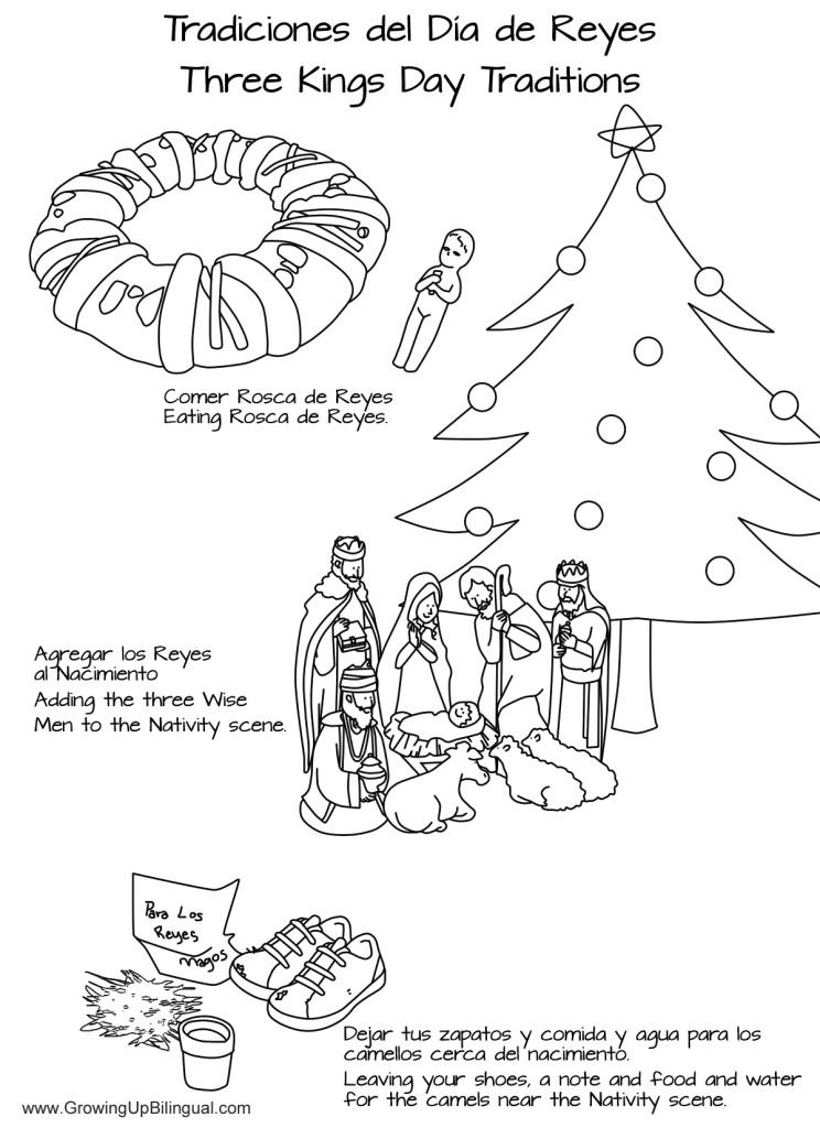 Día de los Reyes : Three Kings Day Crafts and Activities