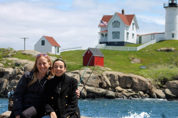 Nubble light house, visiting with friends from New England.