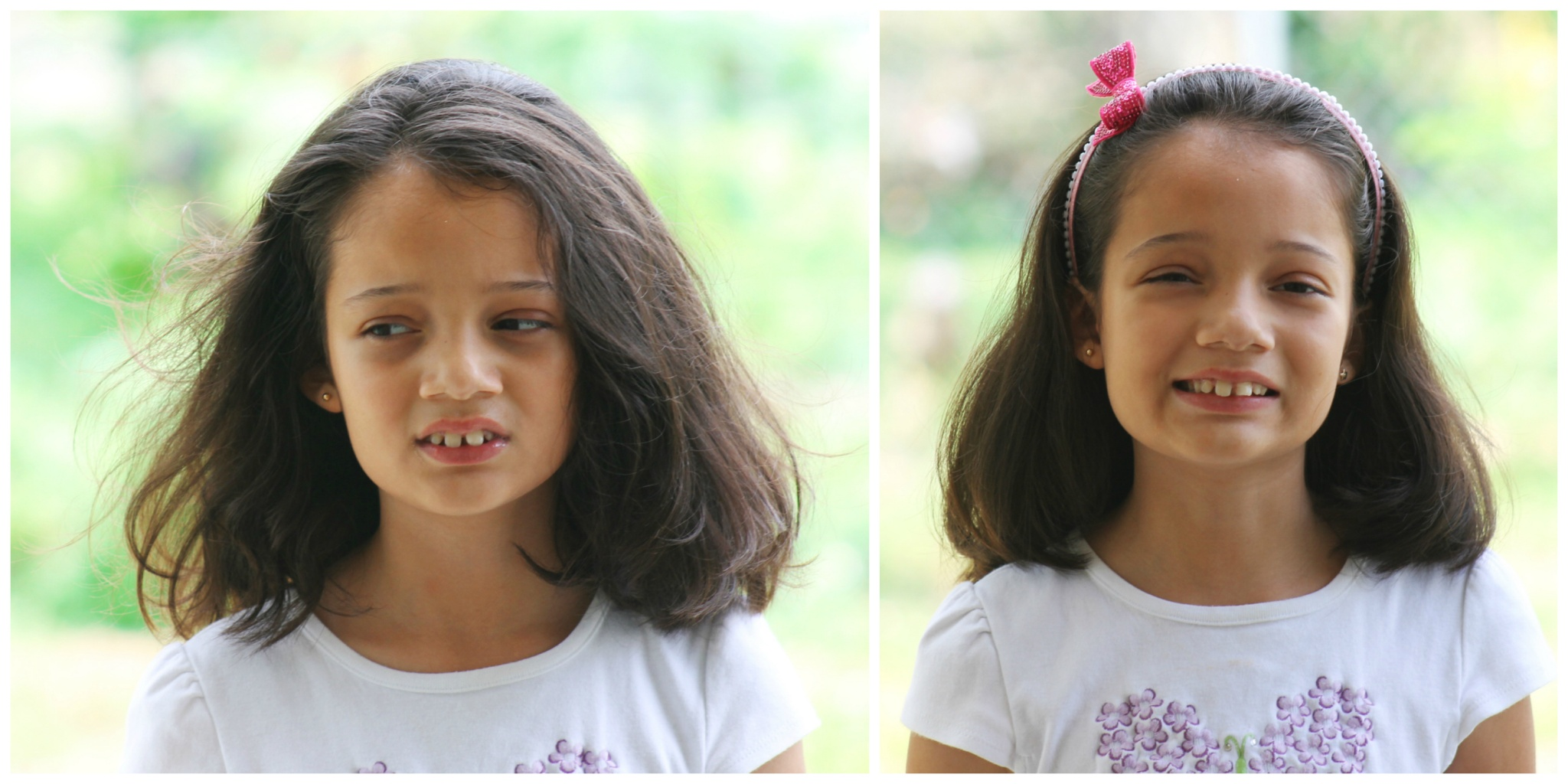 From Crazy Hair To Princess Hair Easy 5 Minute Hairdo For Girls