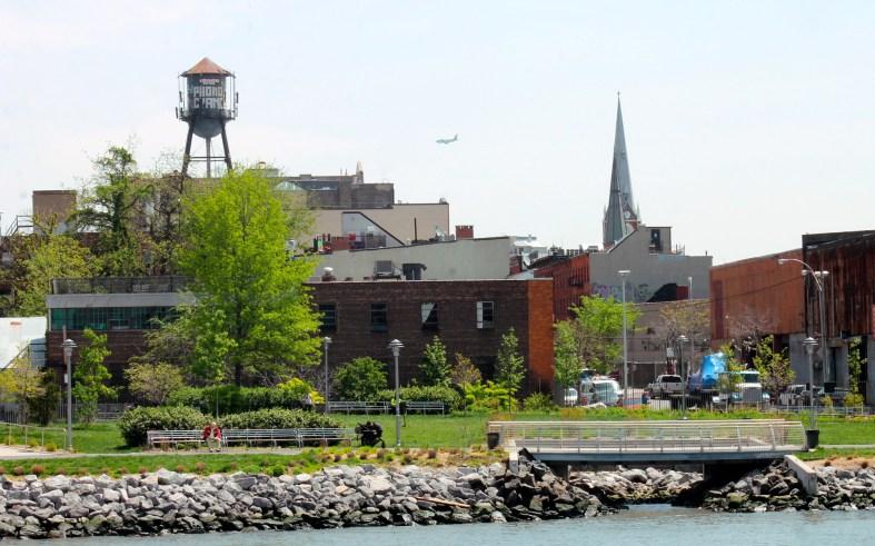 Transmitter park Greenpoint Brooklyn