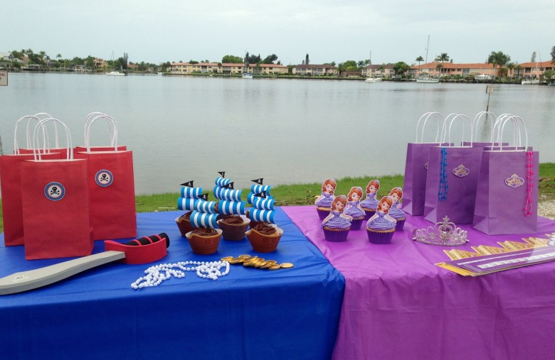 Pirate and princess party ideas and free printables
