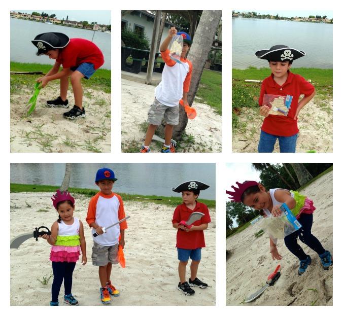 pirate party treasure hunt