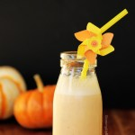 pumpkin pie milkshake for breakfast