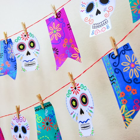 day_of_the_dead_printable_ garland_square
