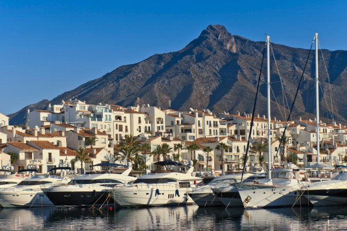 Marbella Spain Travel coast with boats