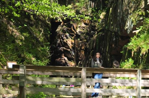 Flume Gorge at Franconia Notch park