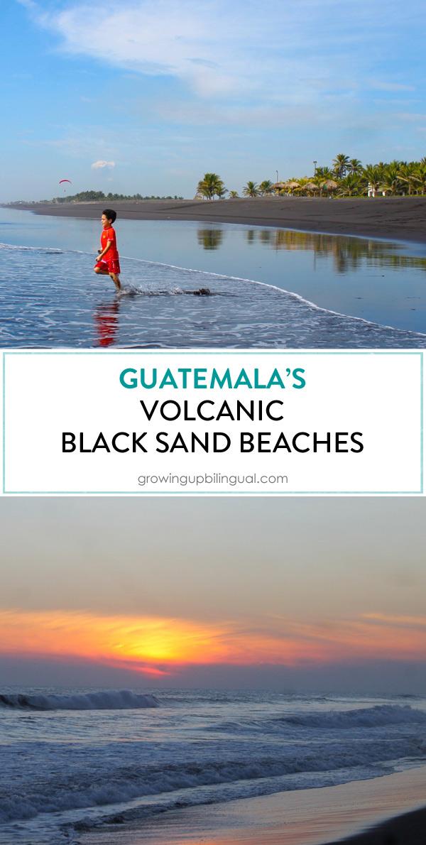 Guatemala's Black Sand Beaches