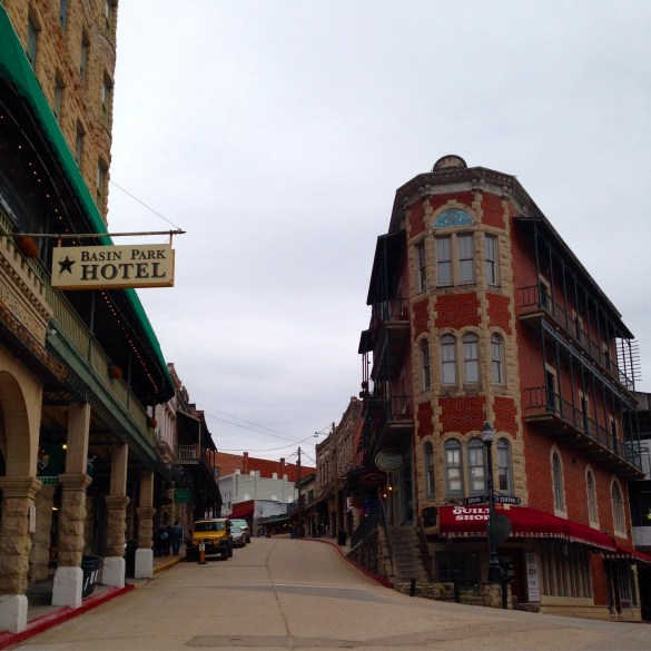 Eureka Springs Spring Street historic downtown