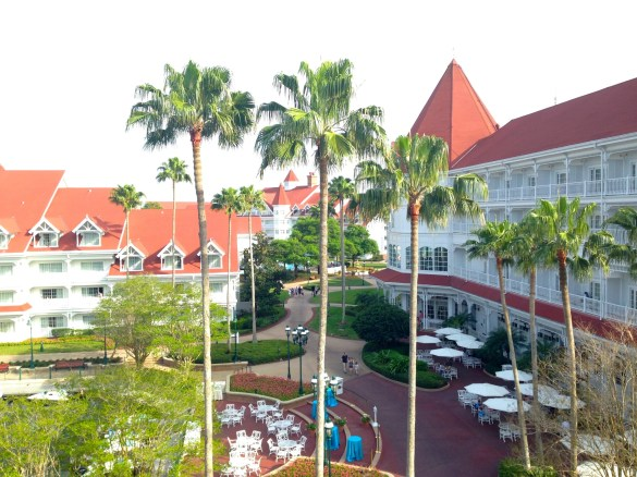Disney's Grand Floridian Resort: view from room