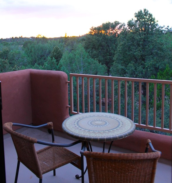 Alma de Sedona private balcony