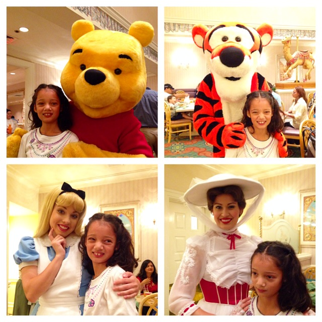 Character Breakfast at 1900 Park Fare