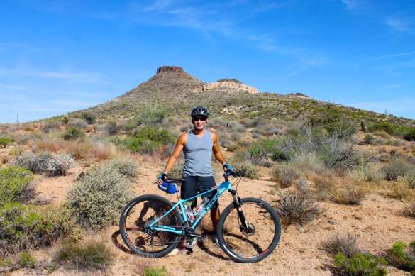 Mountain biking with Arizona Outback Adventures