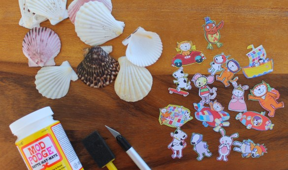 story shells DIY craft