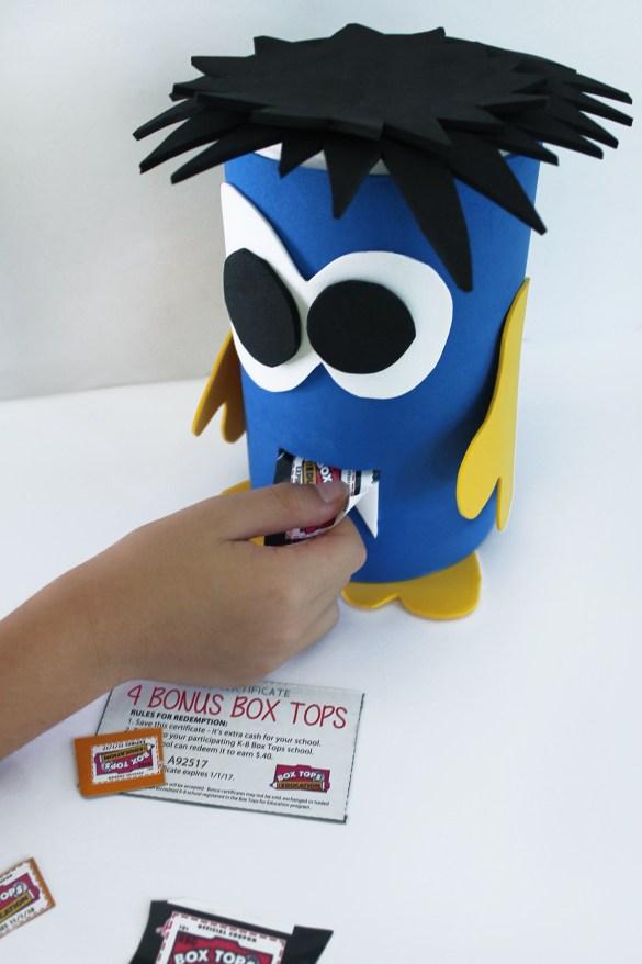 box tops eating monster