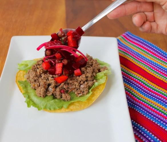 guatemalan enchiladas ingredients and preparation