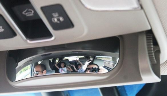 Kia Sedona interior family road trip