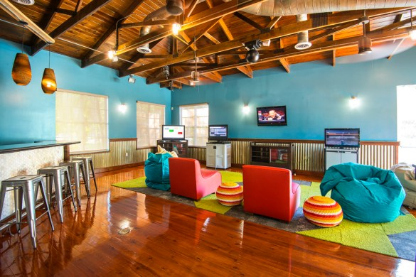 Coral Cay high tech area for teens at Hawks Cay. Photo courtesy of Hawks Cay Resort.