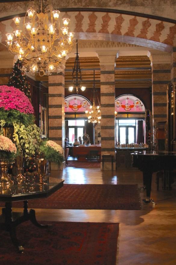Pera Palace lobby