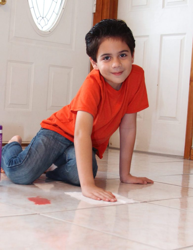 making cleaning fun for kids
