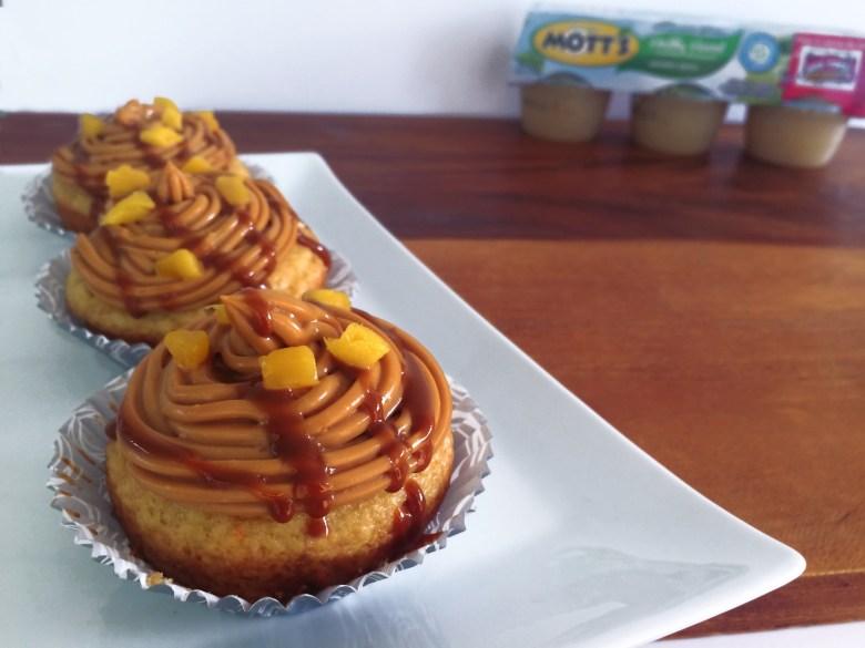 Mango Dulce de Leche Cupcakes with Mott's Applesauce 3