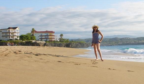 Playa Alicia in Puerto Plata Dominican Republic
