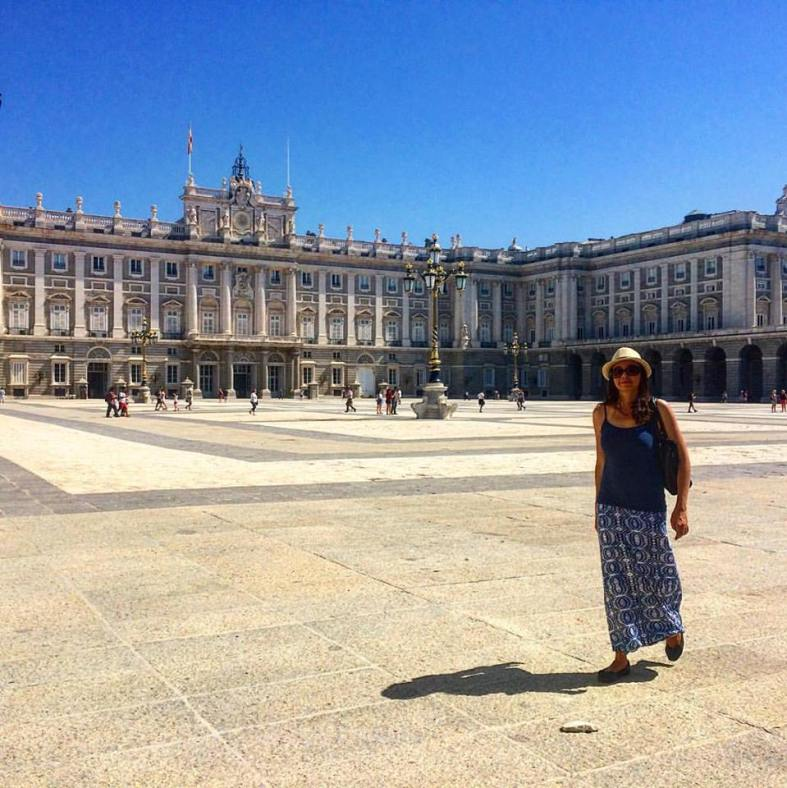 Royal Palace in Madrid
